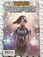War of the Realms New Agents of Atlas (2019) Marvel - #1, 2nd Print Variant, NM