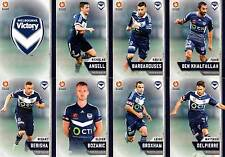 2015/16 TAP N PLAY FFA & A-LEAGUE 16-CARD BASE TEAM SET MELBOURNE VICTORY