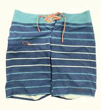 "New ListingPatagonia Board Shorts Swim Trunks Blue Peach Striped Men's Size 30 Inseam-9"""
