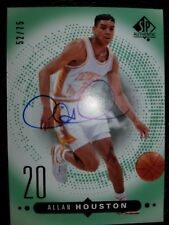 Allan Houston 2014-15 UD SP Authentic Auto Autograph /75 Knicks Tennessee