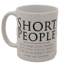 Short People Funny Novelty Design Gift Tea Coffee Office Ceramic Mug