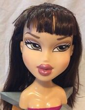 BIG BRATZ DOLL HEAD ~ JADE ~ FUNKY FASHION MAKEOVER ~ style stylin salon