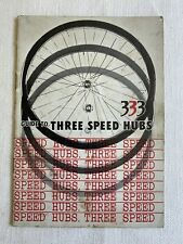 Guide To Three Speed Hubs 333 Shimano Bicycle Overhaul  & Reassemble Manual