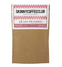 Skinny Coffee Club 28 Day Program, Caffeine Garcinia Cambogia, Green Coffee Bean