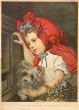 More details for skye terrier antique vintage dog art print engraving -