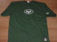 New York Jets Shirt Sleeve T-shirt Large On Field Issue Reebok Green NFL