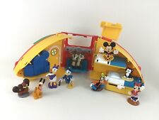 Mickey Mouse Clubhouse Figures Camper Pluto Minnie Goofy Daisy Donald Disney