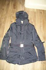 Marithe Francois Girbaud-navy down coat/jacket/puffer.S/M.BNWT.