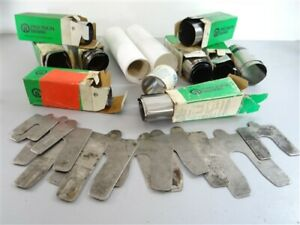 """LARGE LOT OF ASSORTED STEEL PLASTIC SHIM STOCK .001"""" TO .030"""" + SLOTTED SHIMS"""
