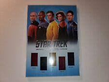 Star Trek Inflexions Starfleet's Finest Quintuple Captains Costume Relic QC1