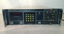 WATKINS-JOHNSON FREQUENCY SYNTHESIZER WJ-1250 & RF SOURCE WJ1251-25