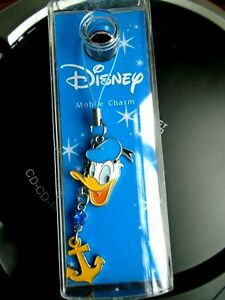 Disney Mobile Charm. Donald Duck. NEW & Sealed in Plastic Box