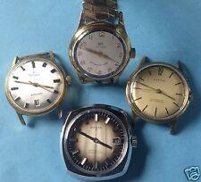 Konvol. 4x Herren Armbanduhr Handaufzug+Automatic Anker BK Clyda W Exquisit~1950