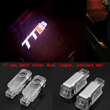 Audi TTS 2X LED Light 3D Logo Projector Emblem Ghost Shadow Door Welcome Light