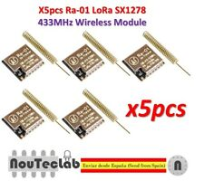 5pcs Ra-01 LoRa SX1278 433MHz Wireless Spread Spectrum Transmission Module Ra01