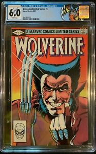 WOLVERINE #1 Limited Series (1982) CGC 6.0 1st solo Wolverine; CUSTOM LABEL!