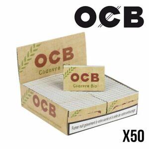 OCB Chanvre BIO - Boite de 50 Carnets - PROMO !