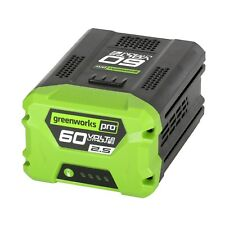 Greenworks 2908302-RC Pro 60V Lithium-Ion 2.5AH Battery (Reconditioned)