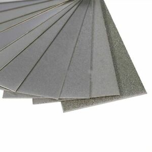 150-3000 Grit Thin Polishing Diamond Plate Sharpening Stone Whetstone Knife Tool