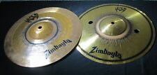 "12 1/2"" SPECIALTY Hi-Hat chirper trash cymbal SET top is a Zildjian ZBT"