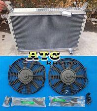 3 Rows Nissan 300ZX 1984-1989 Aluminum Radiator + 2 Fans 85 86 87 88