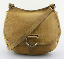 Women's FRYE 'Amy' Camel Brown Leather Crossbody Bag