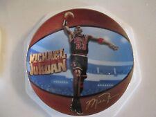 2000 Collectors Plate Michael Jordan By Glen Green Double Digit Rec Breaker 309A