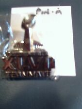 2013 SUPER BOWL 47 XLVII Team Mate Press-Media Pin Ravens vs. 49er's