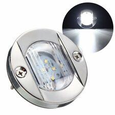 LED Marine Boat Transom Stainless Steel Anchor Stern Light Waterproof White 12V