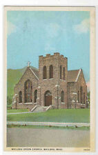 Union Church Wailuku Hawaii 1920s postcard