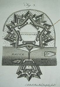 1797 Aufdrücke ~ Verstärkungen Stärkende Towns & Andere Orte + Text Artikel