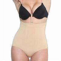 High Waist Full Back Bottom Body Shaper Waist Cincher w/ Bra Fastener Shapewear