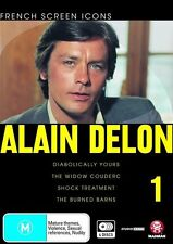 French Screen Icons - Alain Delon - 01 (DVD, 2009, 4-Disc Set) Region 4