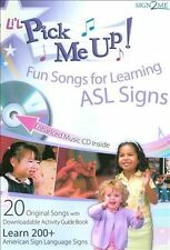 Li'L Pick Me Up! Fun Songs for Learning 200+ ASL Signs - Enhanced Music CD plus