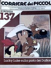 Corriere dei Piccoli 21 1980 Lucky Luke La Ballata dei Dalton - Diario di Stefi