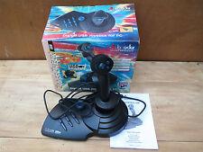Ancien joystick vintage pour PC Boeder Crosscheck USB