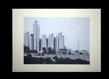 Frank Lloyd WRIGHT Lithograph #'ed LIMITED ~Crystal Heights Hotel 1939 +FRAMING