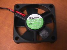 NEW Sunon 45mm x 10mm KD1245PFB3-8 case fan 12V .5 W  Factory BOX of 3 fans