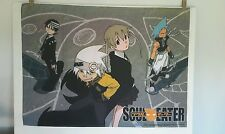 RARE Soul Eater Anime Cloth COSPLAY Advertising by Funimation 41x31 inches