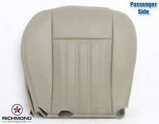 2003 Lincoln Aviator AC-Passenger Side Bottom Replacement Leather Seat Cover TAN