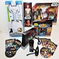 Wii Console STAR WARS Gift Bundle =LEGO Complete Saga +LightSaber +3 Boxed Toys
