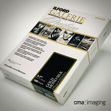 """ILFORD Galerie Prestige Gold Mono Silk 270 gsm 5 x 7"""" (12.7 x 17.8cm) 100 sheets"""