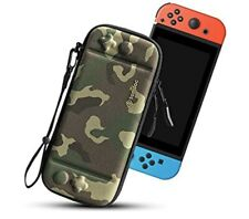 Carrying Case For Nintendo Switch Portable Hard Slim Shell Travel Pouch Camo