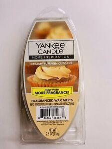 Yankee Candle Home Creamy Pumpkin Cupcake Fragranced Wax Melts