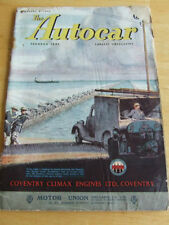 Autocar Monthly Cars, Pre-1960 Magazines