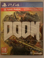 DOOM UAC Pack For PAL PS4 (New & Sealed)