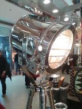 Spotlight Theater Nautical Home Decorative Tripod Search light lamp Floor Lamp