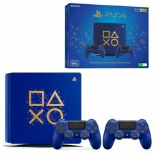 Sony PlayStation 4 Slim Days of Play Limited Edition 500GB Blue Console (PAL)