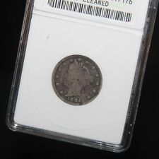 West Point Coins ~ 1884 V Nickel ANACS VG-8 'Corroded - Cleaned'