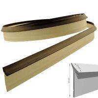 4,2m  Dichtungsprofil Dichtleiste PVC Streifen Grau-Braun